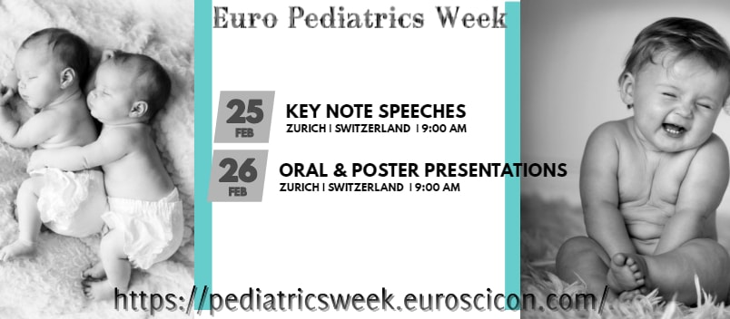 8th International Conference on Euro Pediatrics Week
