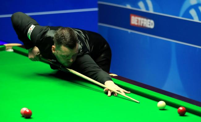 Jimmy Robertson is through at the Welsh Open