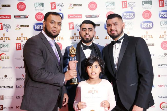 Curry Houses In Sussex Win Asian Restaurant And Takeaway