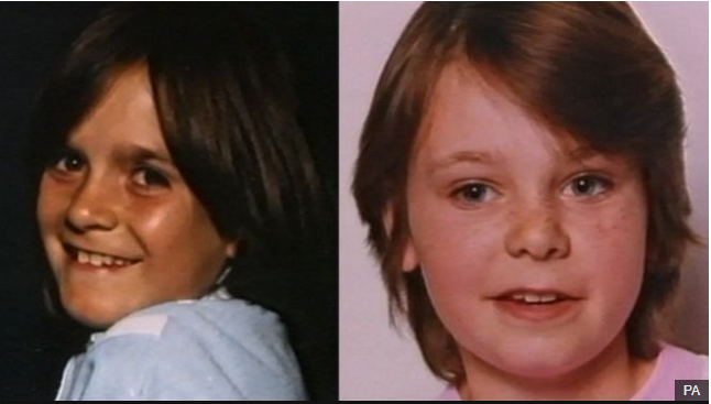 The bodies of Nicola Fellows (left) and Karen Hadaway were found the day after they disappeared