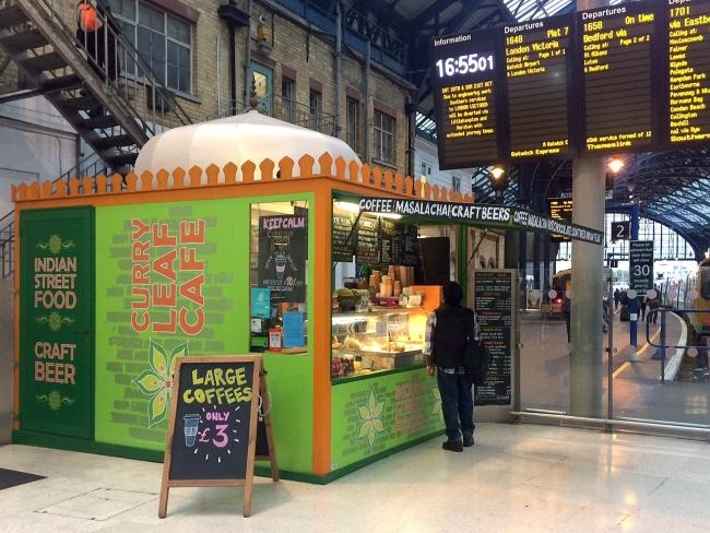 Curry Kiosk At Brighton Station Wins Right To Sell Alcohol