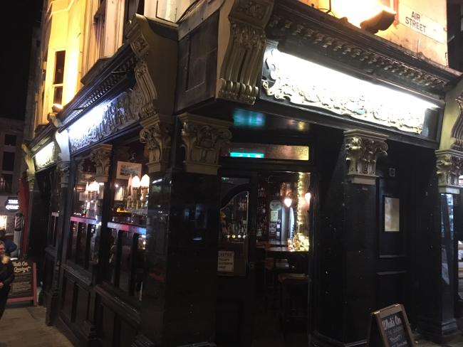 Pub Spy investigates The Quadrant in Brighton