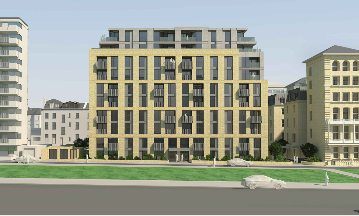 Planners back controversial bid for 169 homes on Hove seafront
