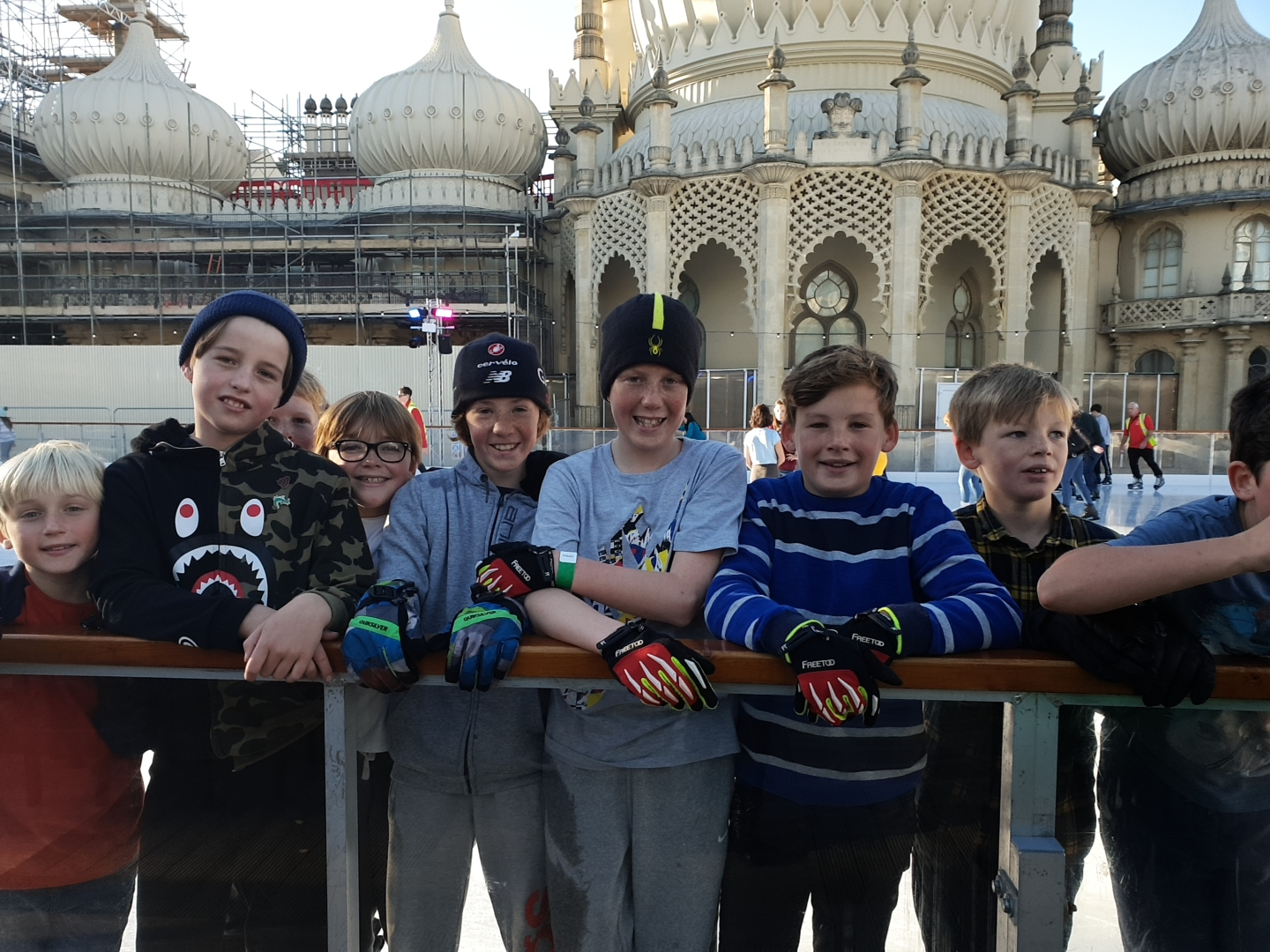 Skaters are in their element as Brighton Ice Rink opens for business