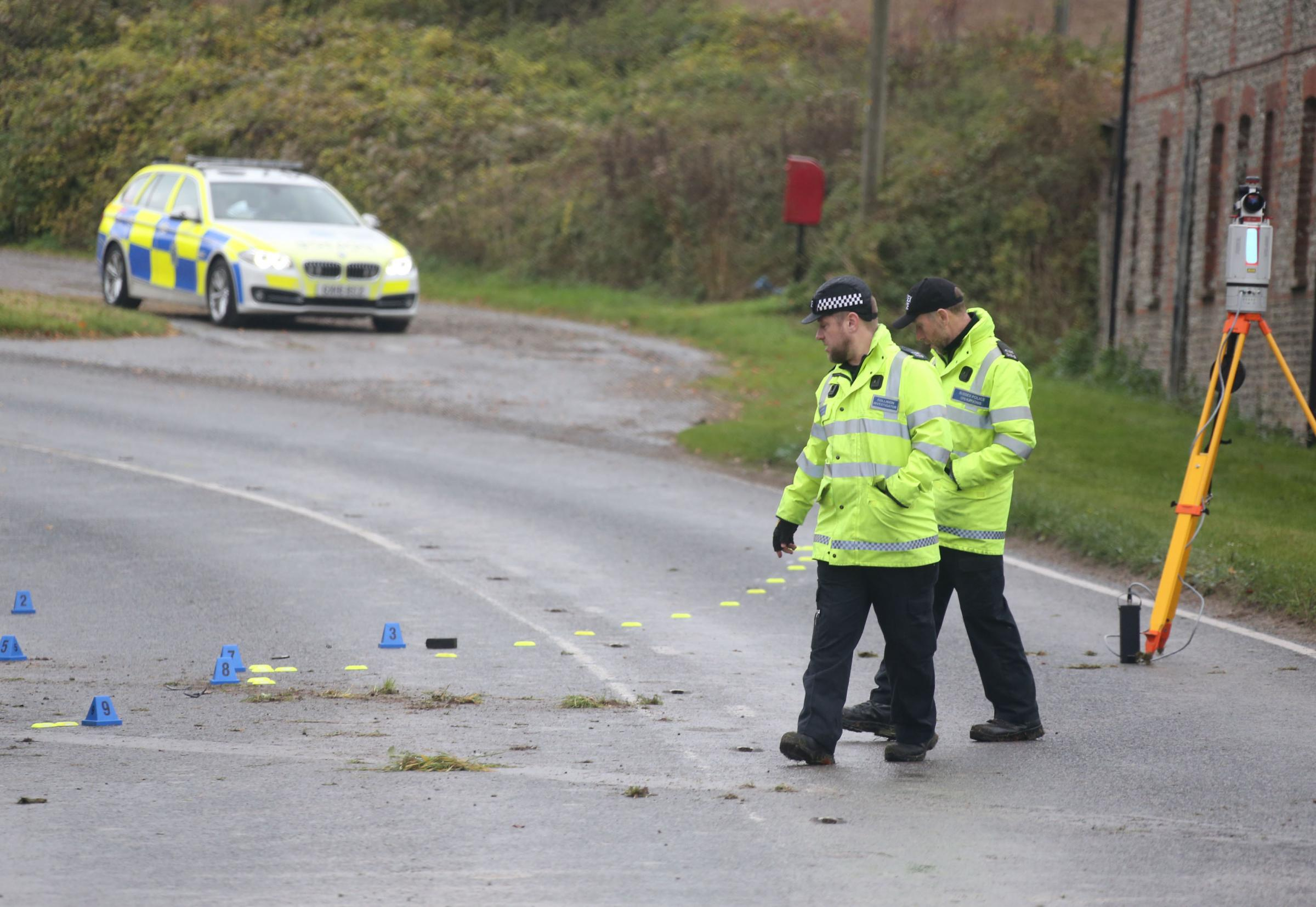 Young driver dies in crash near Chichester