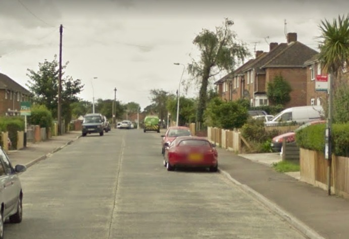 Police were called to Cheviot Road, Worthing. Picture from Google