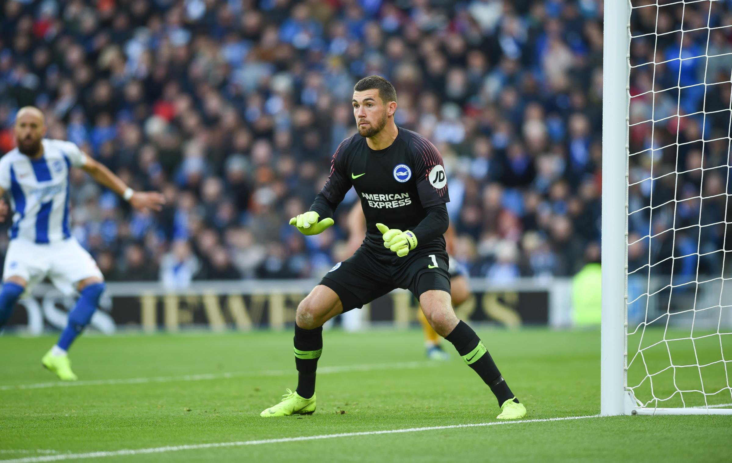 Albion No.1 Ryan speaks about Man United link
