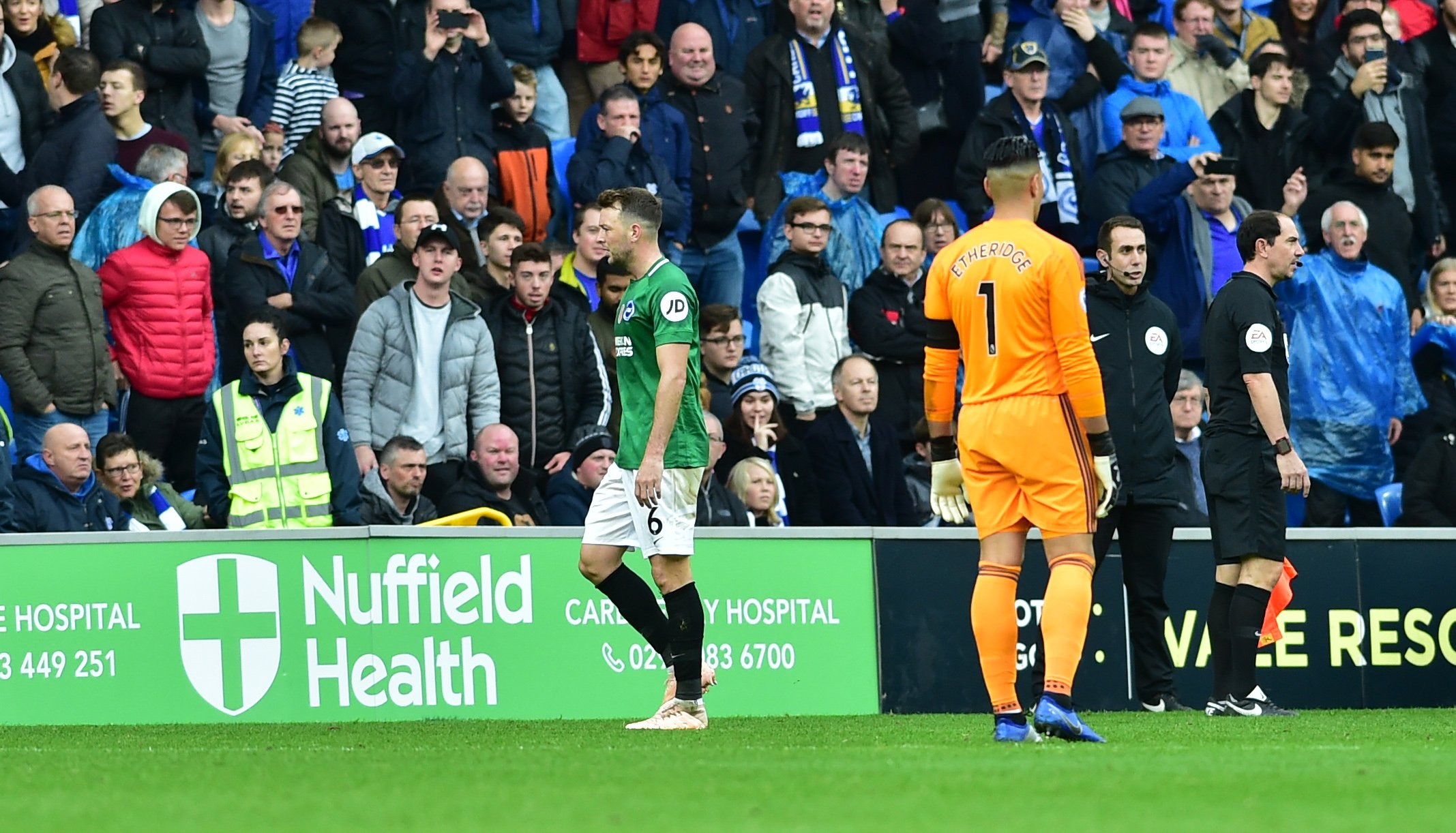 Albion WON'T appeal against Stephens red card