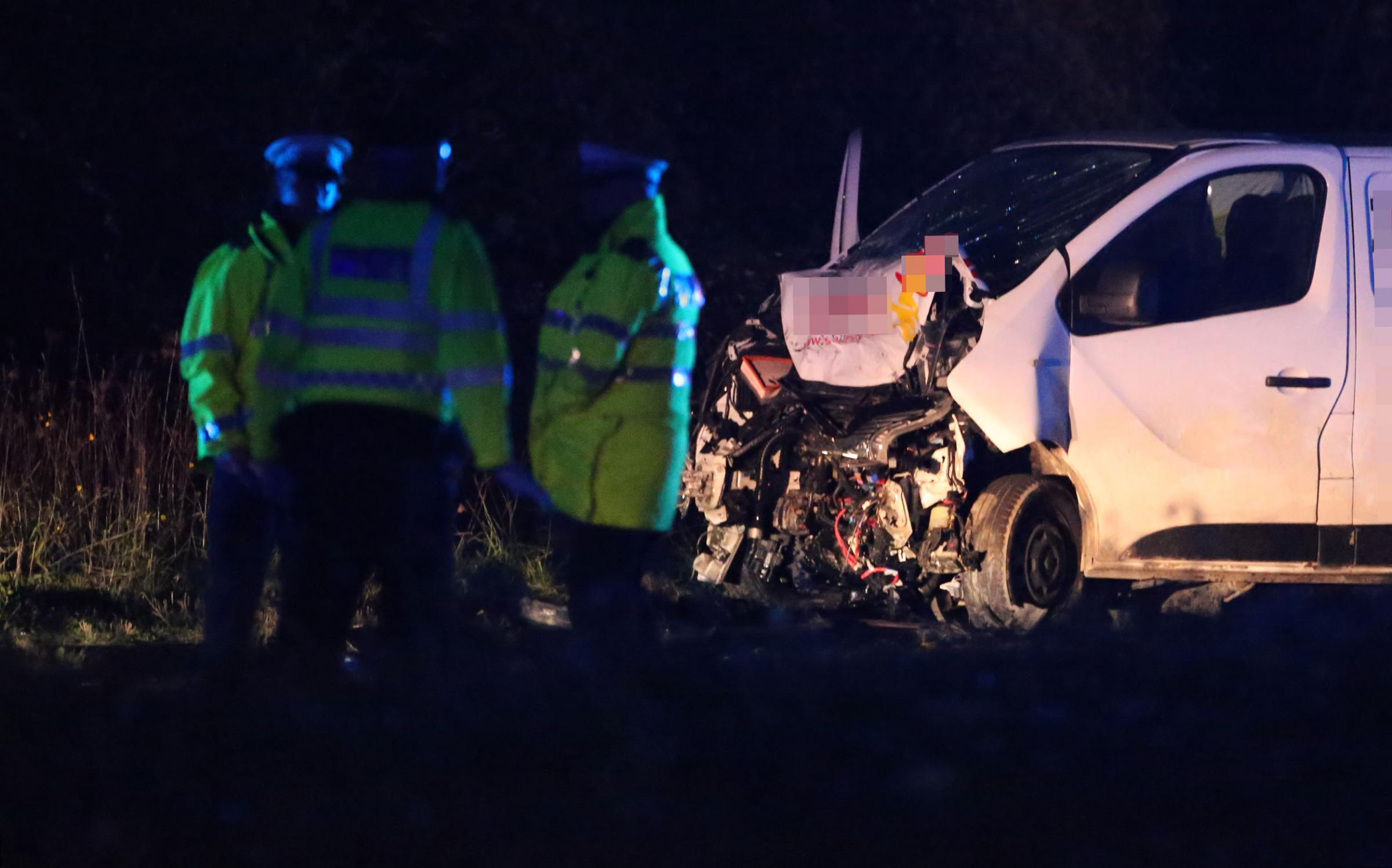 A27 crash: road closed and air ambulance called after serious accident