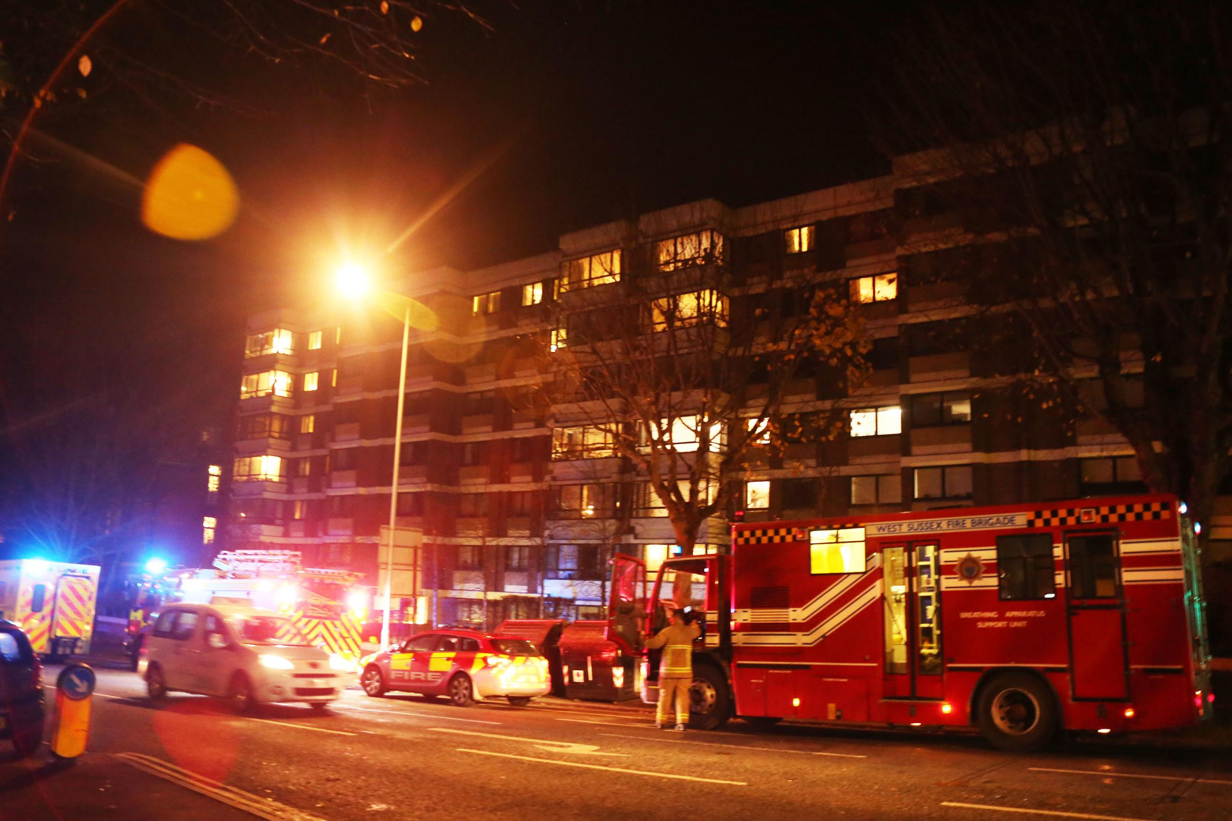 'Chemical incident' in Hove caused by white spirit from decorating