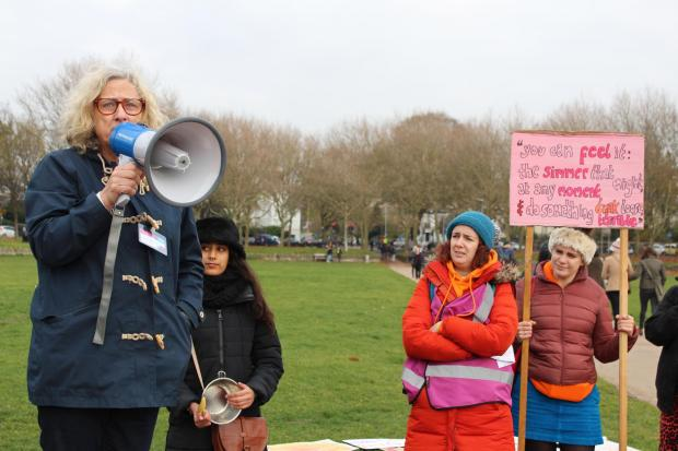 The Argus: Rise campaigners at an event before the Covid pandemic