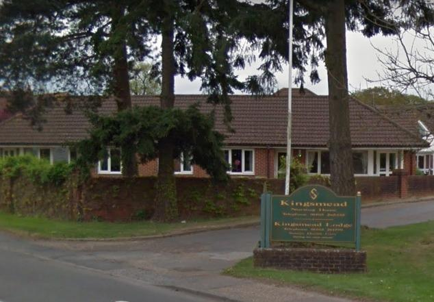 Inadequate Kingsmead Lodge Horsham In Special Measures