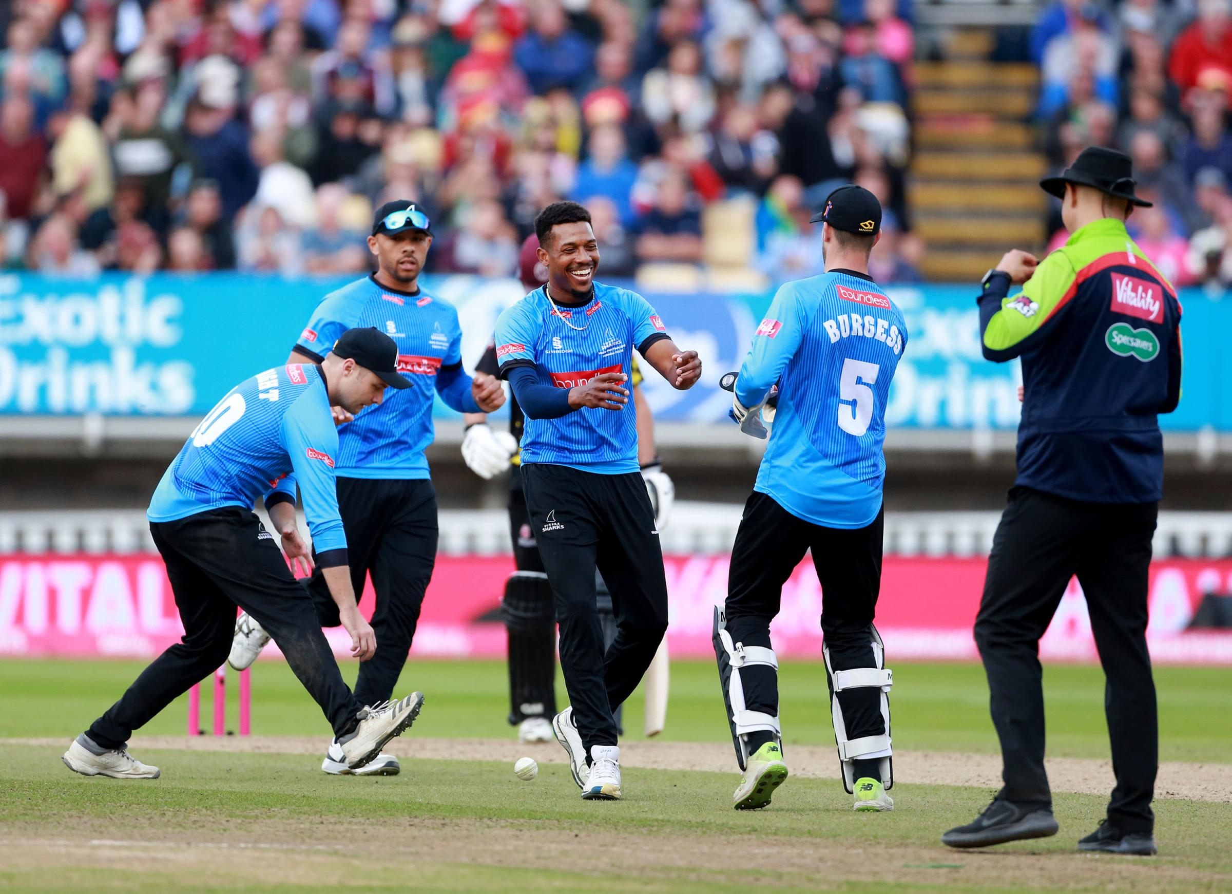 Chris Jordan and Sussex Sharks know their 2019 schedule in the Vitality Blast