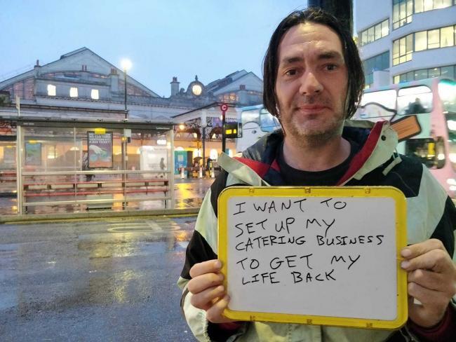 Prime Brighton Homeless Man Finds Burger Van To Kickstart His Interior Design Ideas Inesswwsoteloinfo