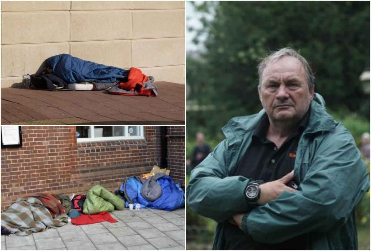 figures show massive drop in people sleeping rough in brighton the