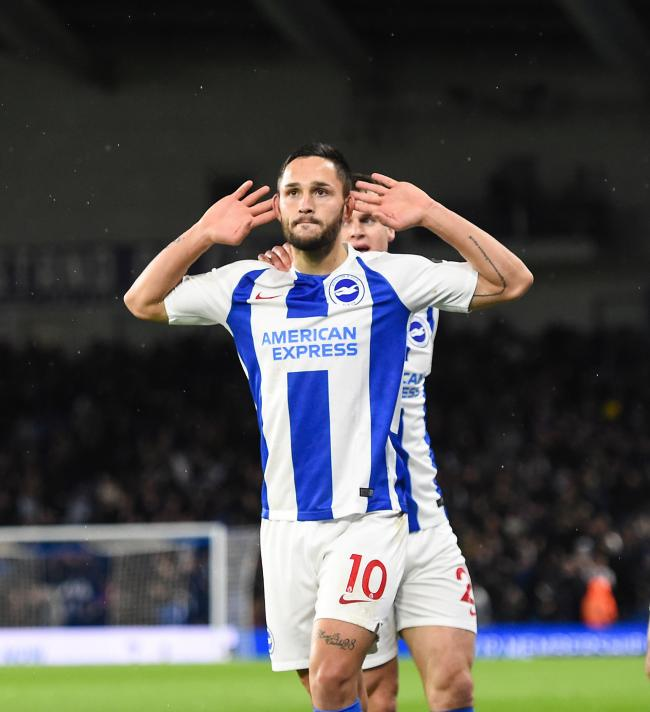 Nuisance' Florin Andone praised by fellow Albion striker | The Argus