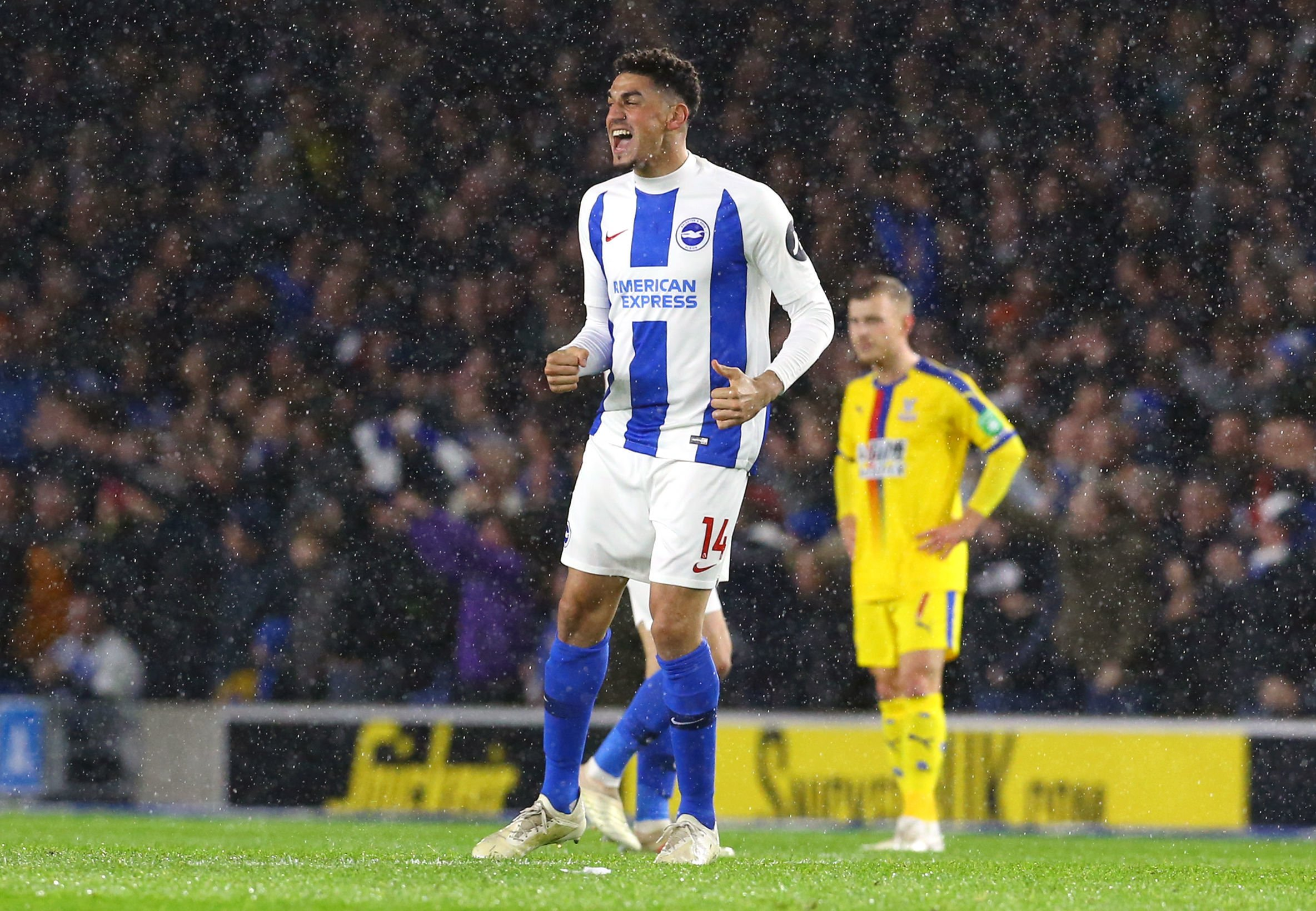 Albion's Balogun set for a watching brief in cup semi-final