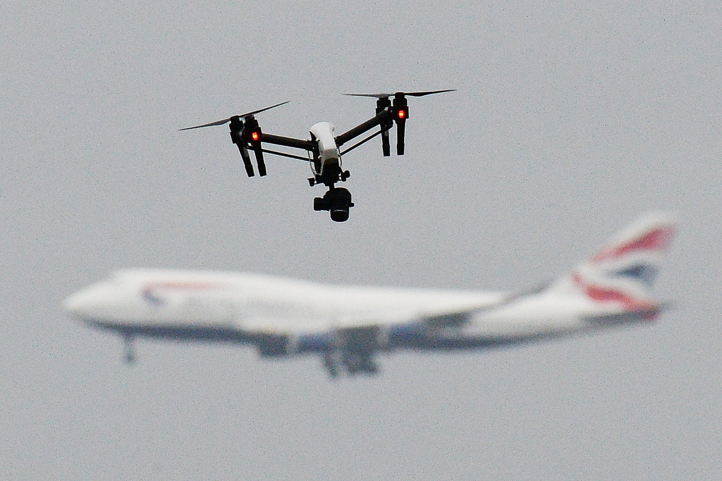 Sussex Police said there have been 67 sightings of drone activity at Gatwick Airport