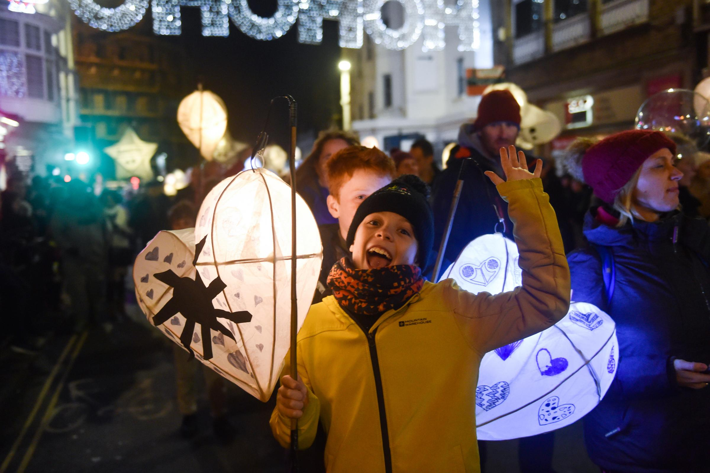 Thousands take to the streets for Burning the Clocks in Brighton | The Argus