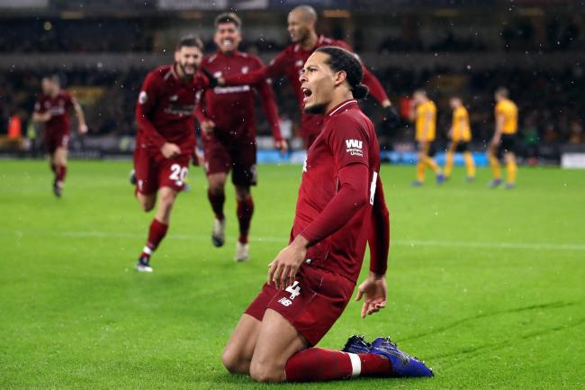 Virgil van Dijk is Liverpool's only fit central defender