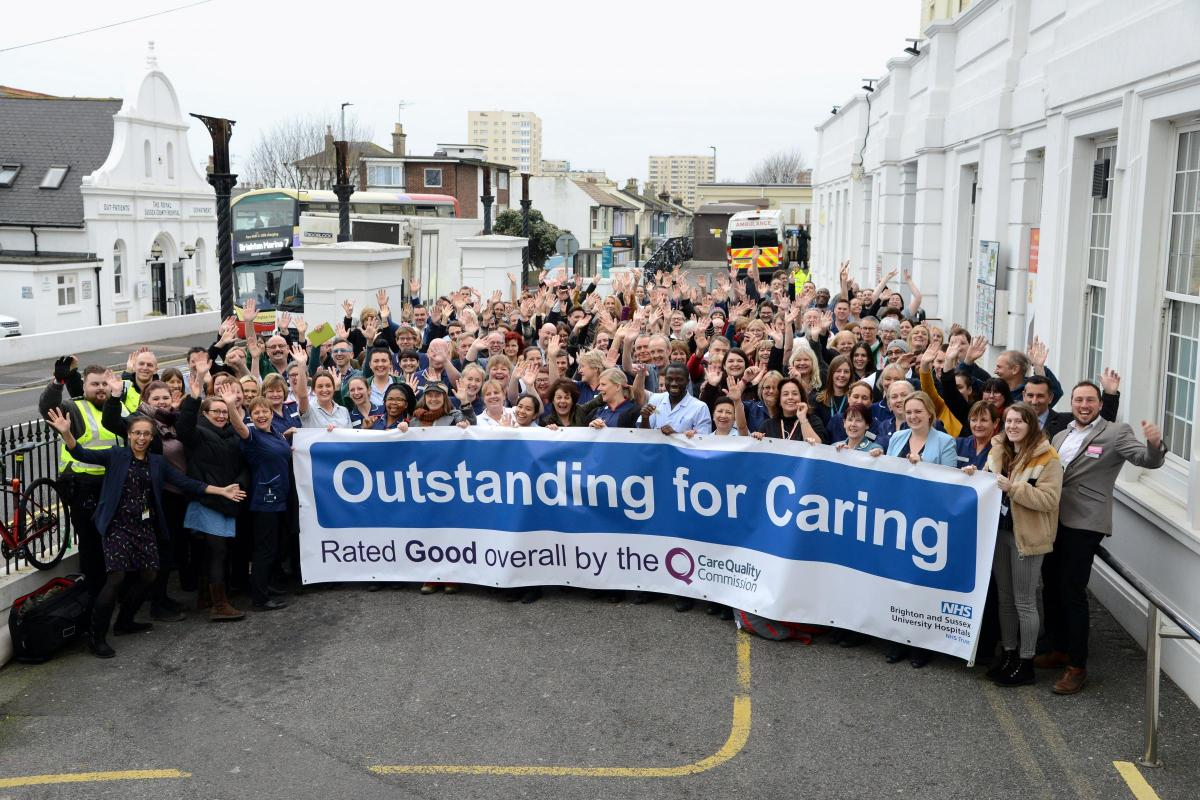 Brighton and Sussex University Hospitals rated good | The Argus