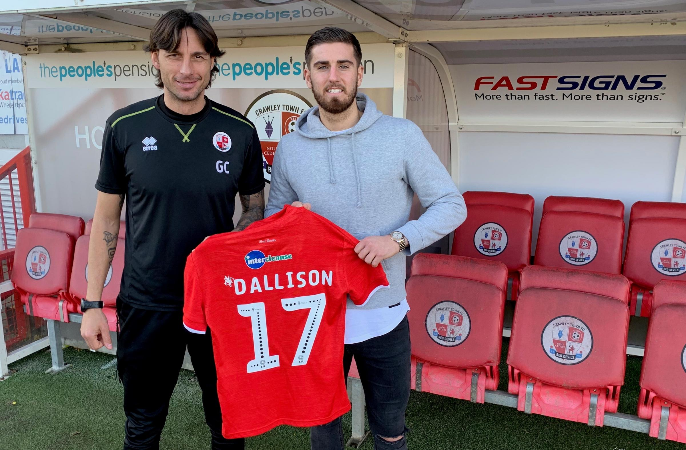 Ex-Albion defender learns fast at Crawley