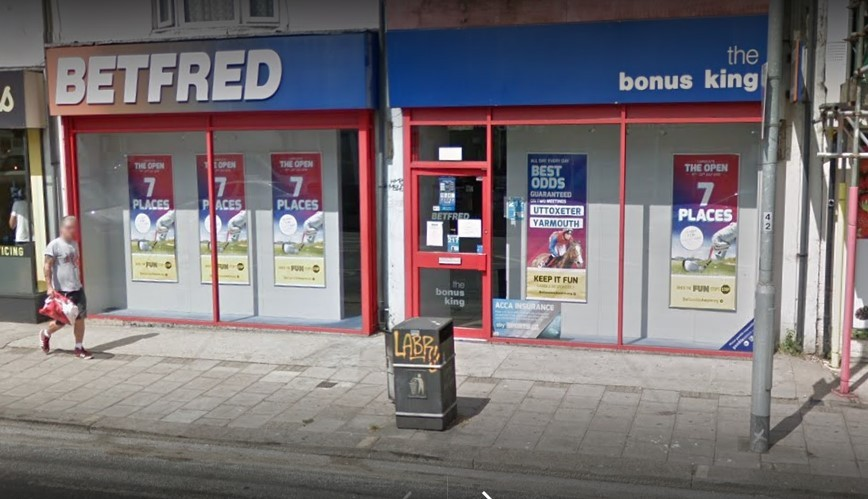 Betfred in lewes Road, Brighton
