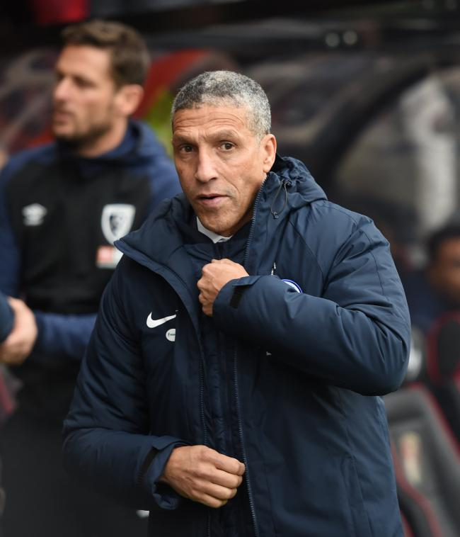 Chris Hughton reckons Liverpool are the best team in the country - at this moment
