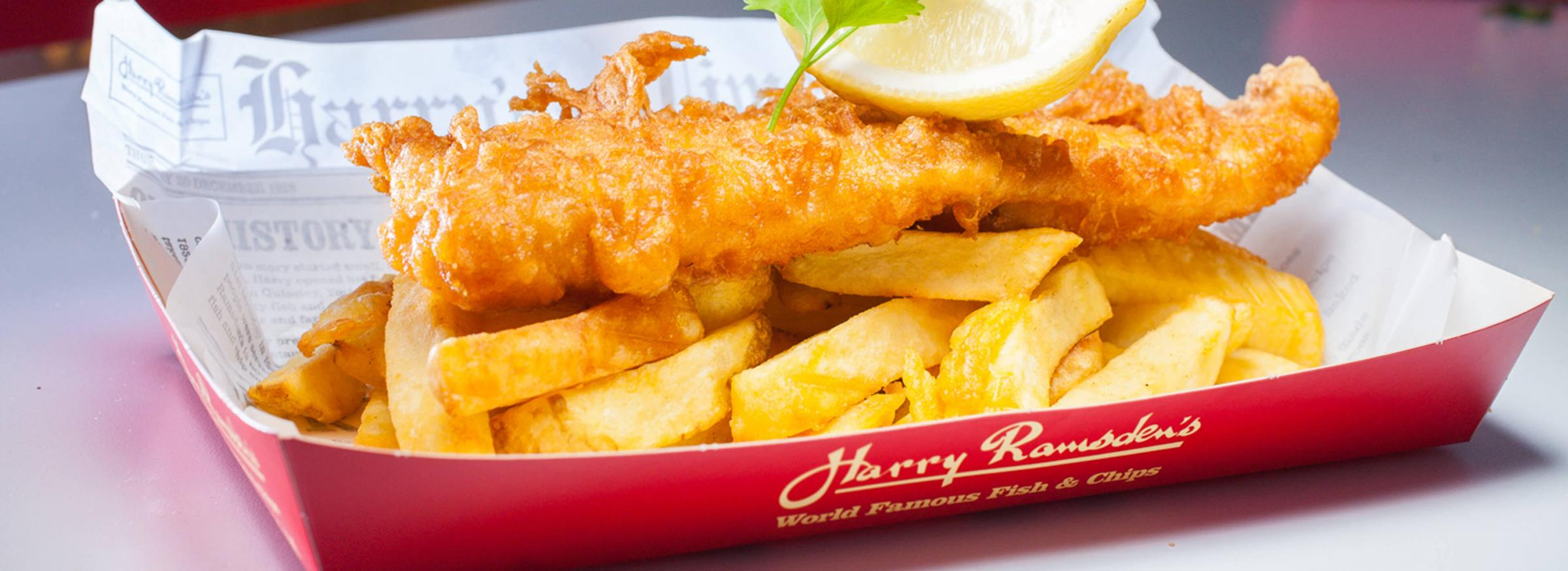 Here's how you can get 2 for 1 at Harry Ramsden's in Brighton (saving up to £13.99)