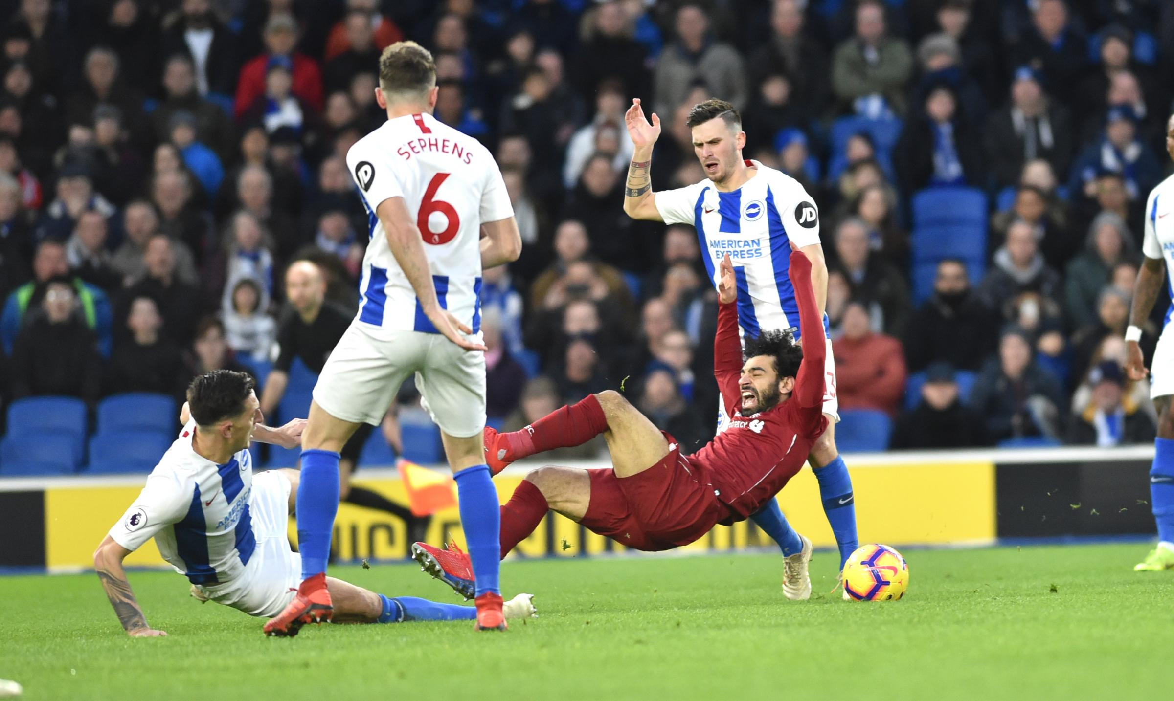 Liverpool defender admits Albion were tough opponents