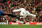 Former Leeds striker Phil Masinga has died at the age of 49 (Paul Barker/PA).