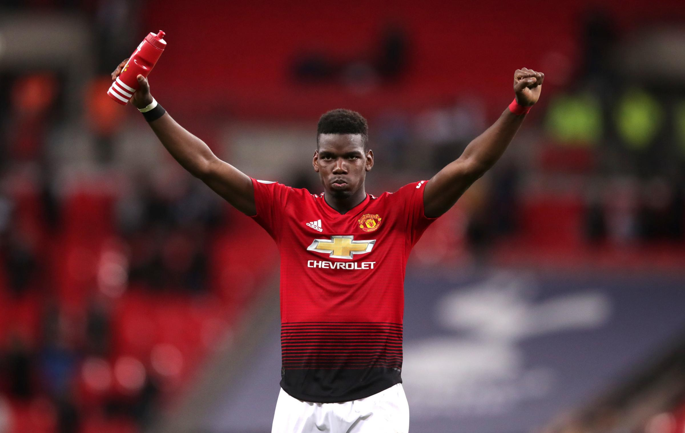 Pogba all smiles ahead of facing Albion