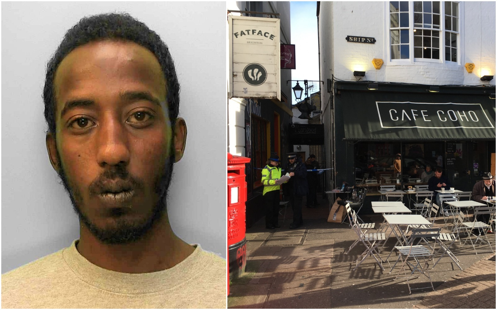 Police have appealed to track down Mahad Hussein in connection with a rape in Ship Street, Brighton, on Tuesday 15th January 2019