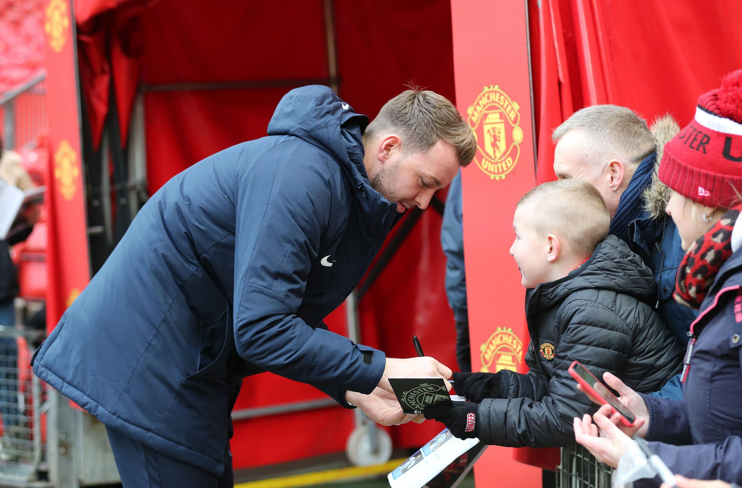 Follow the build-up to Manchester United v Albion from Old Trafford