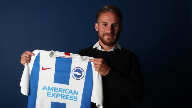 Alexis Mac Allister is much closer to wearing the Albion kit now. Picture: Paul Hazlewood/BHAFC