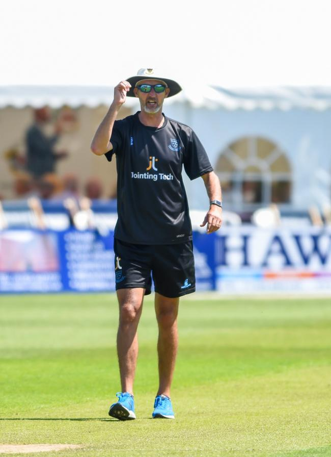 Jason Gillespie wants to repay the faith being shown in him by Sussex