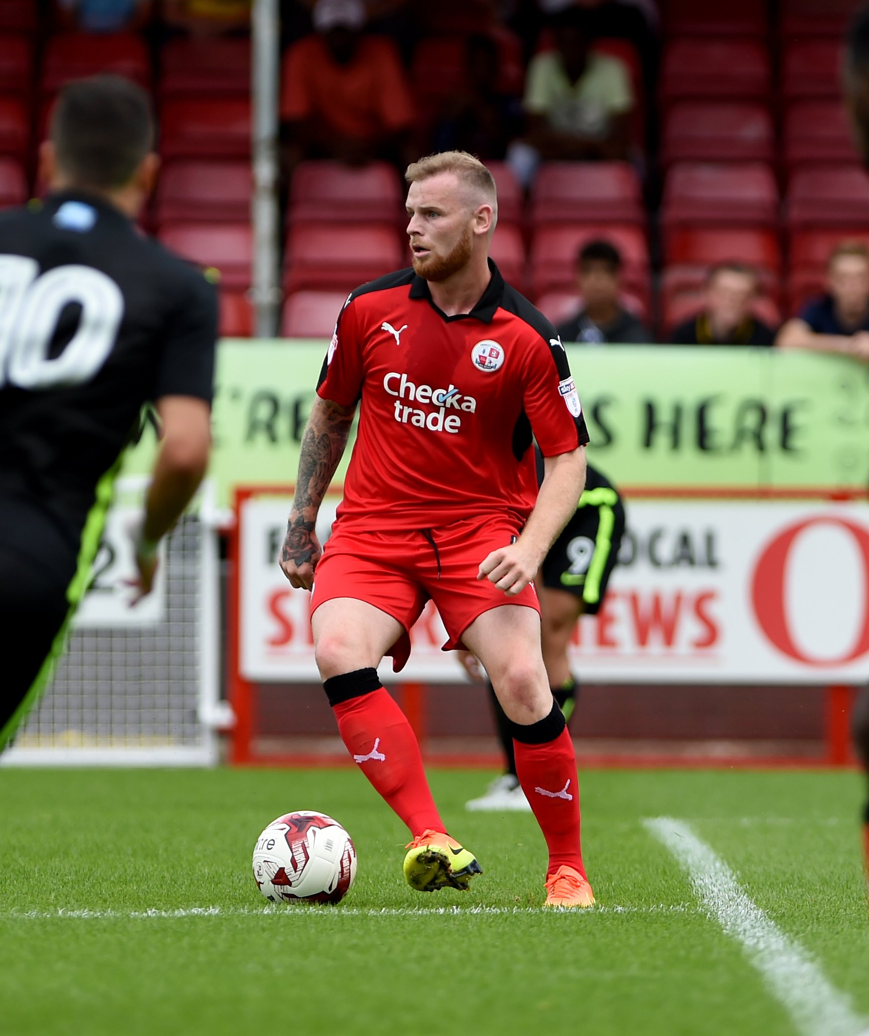 Crawley Town defender signs for Scottish Championship side
