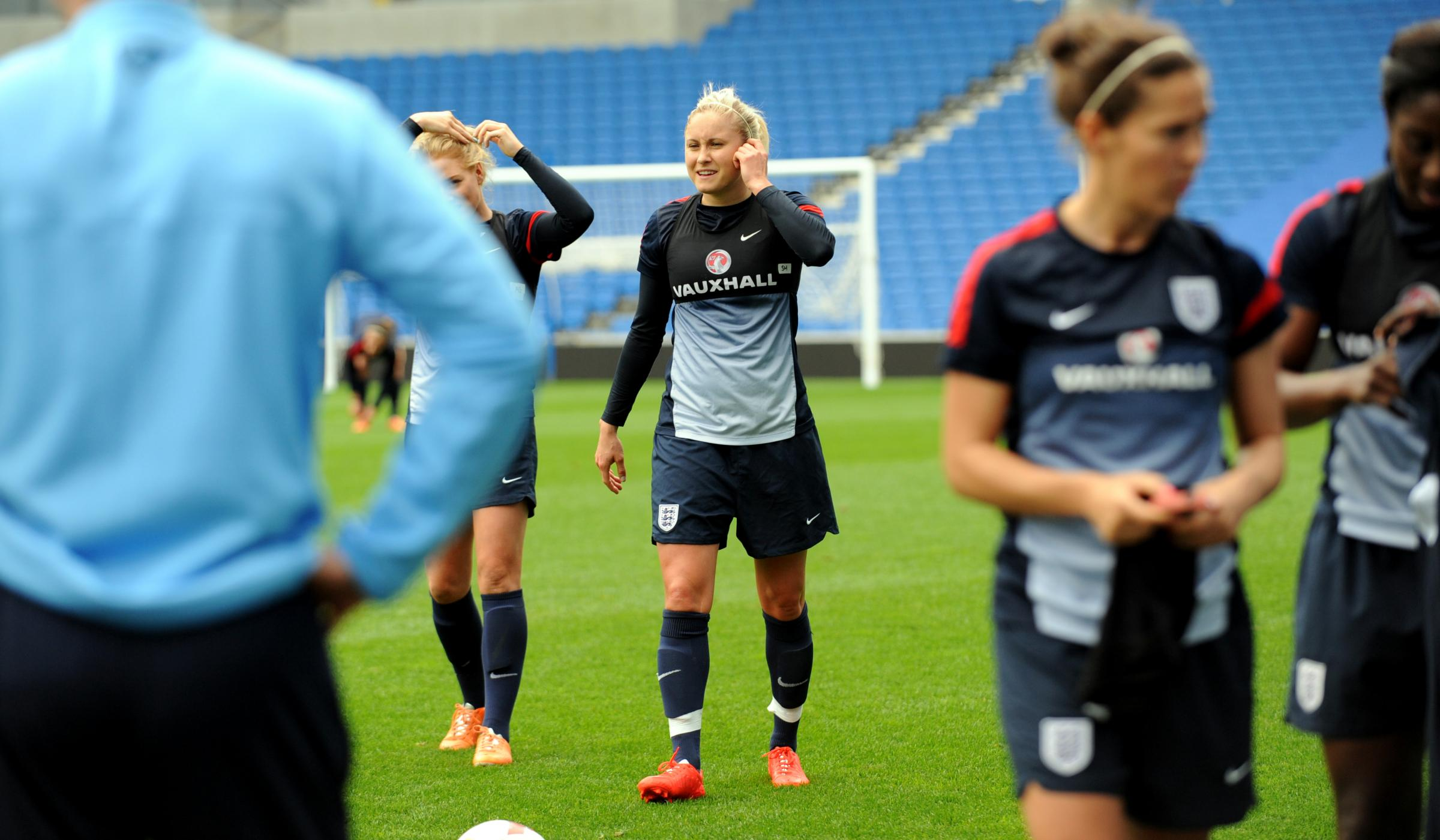 The Lionesses were at the Amex in 2014