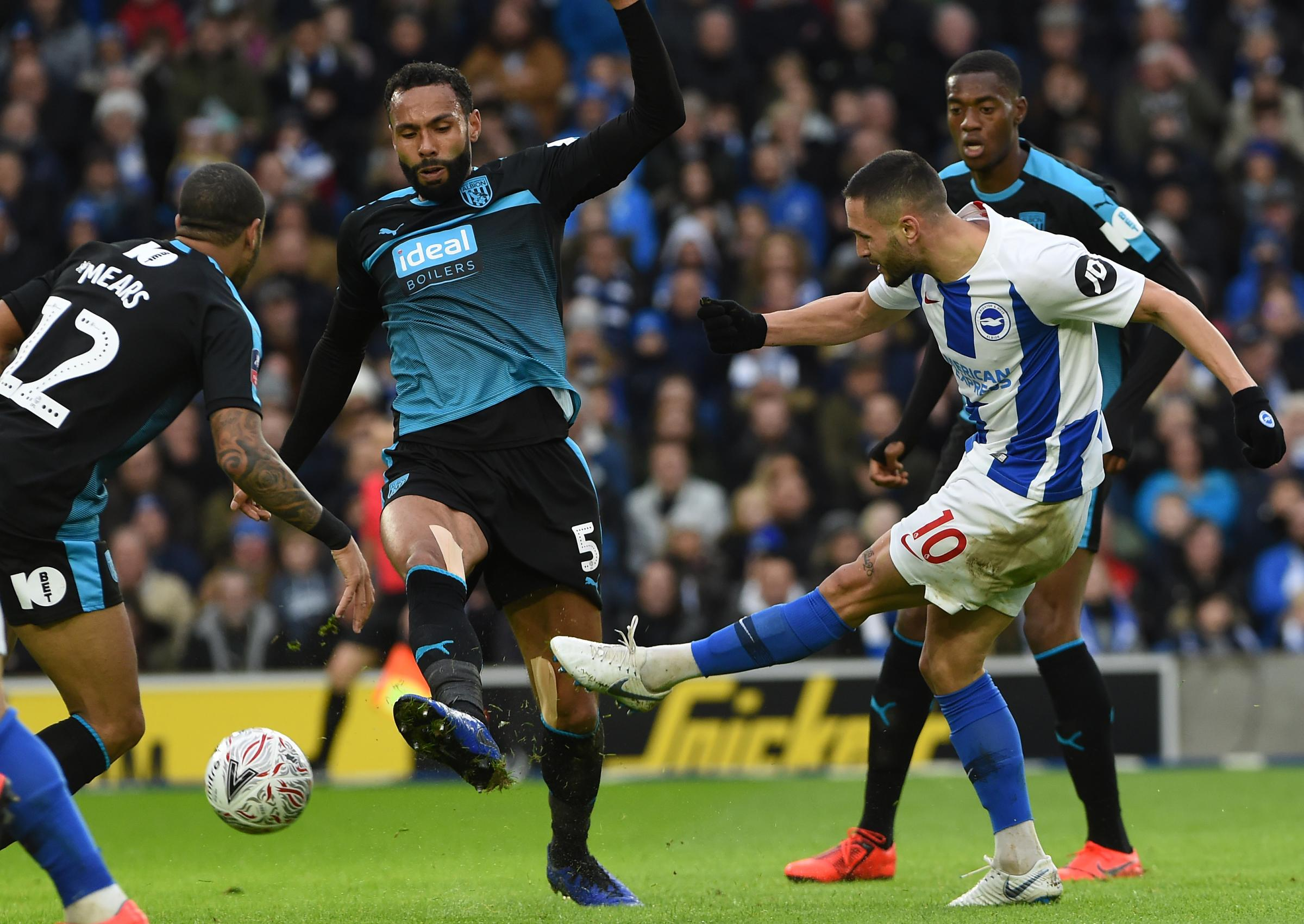 Andone's ban has left Albion light up front admits boss