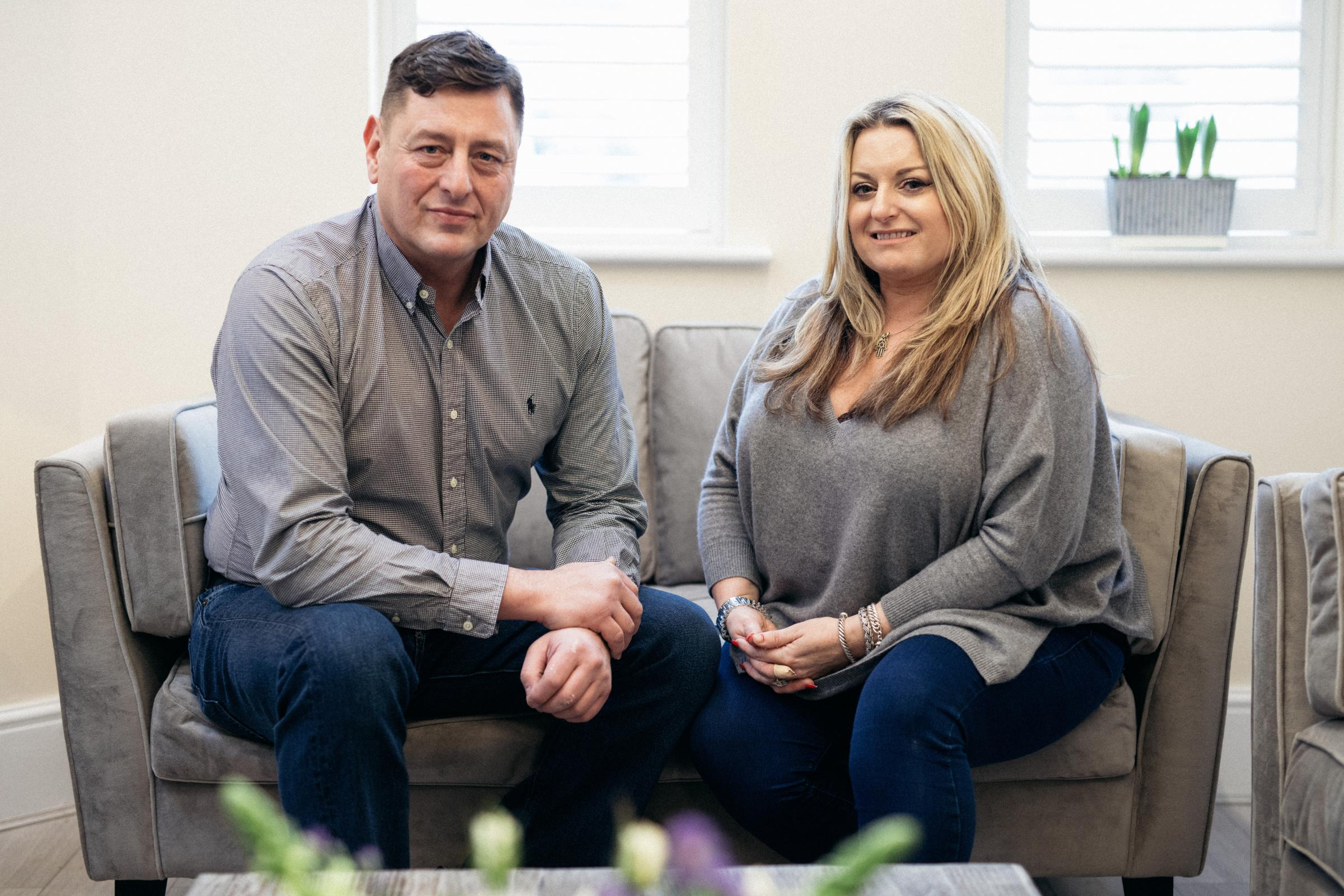 Founders Gary Long and Jenny Andrew