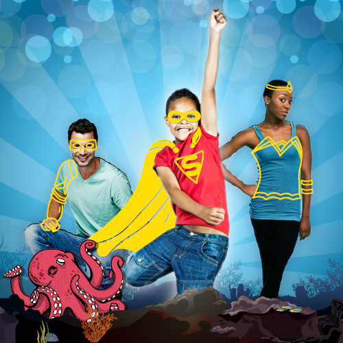 Challenge the Underwater Superheroes at Sea Life Brighton This Half Term