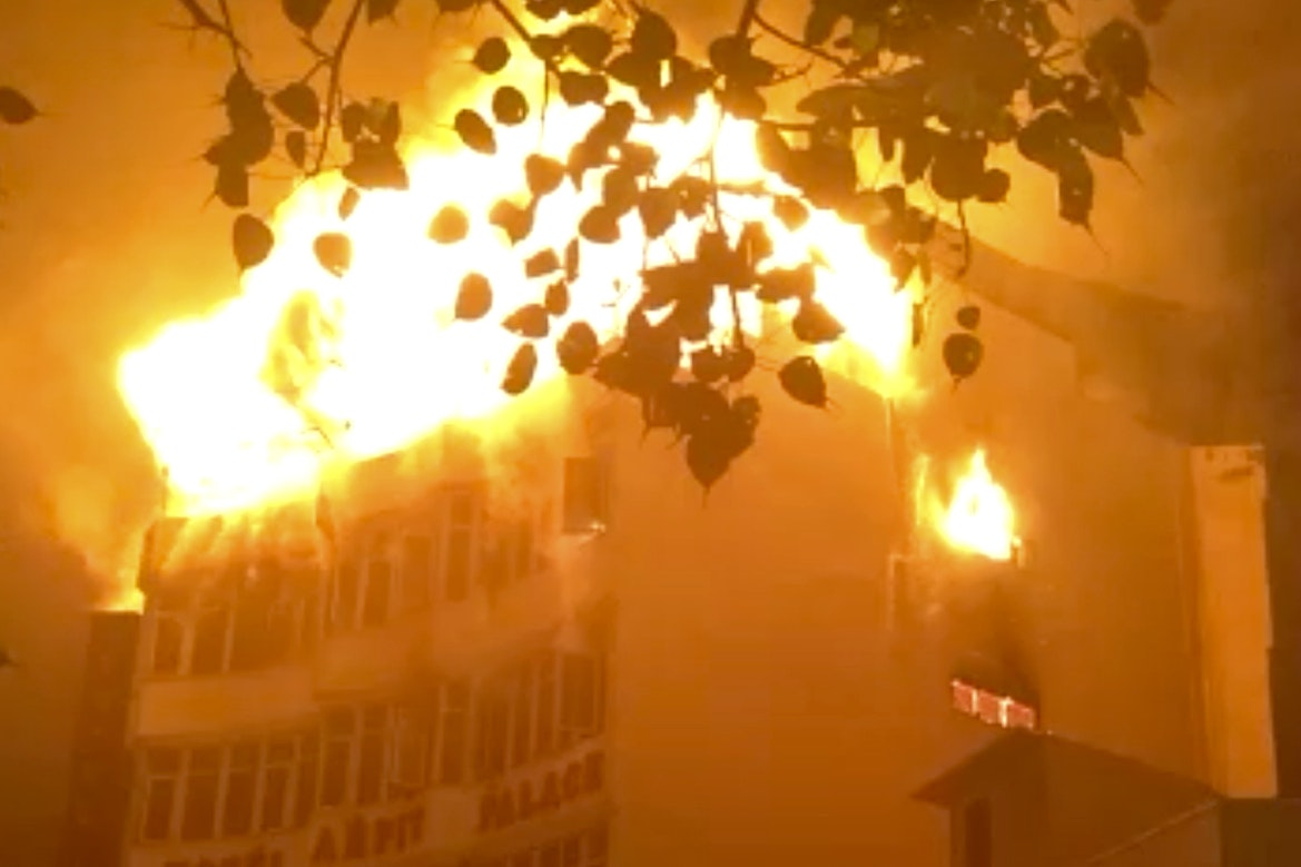 India Hotel Fire