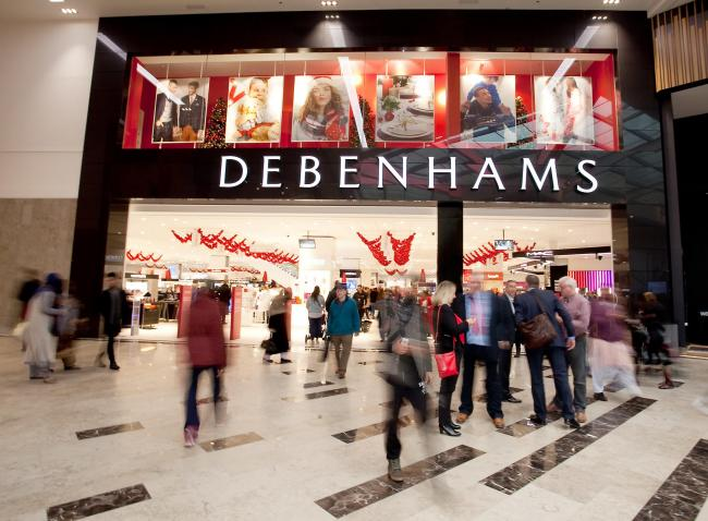 Debenhams has been one of the victims of the Covid pandemic