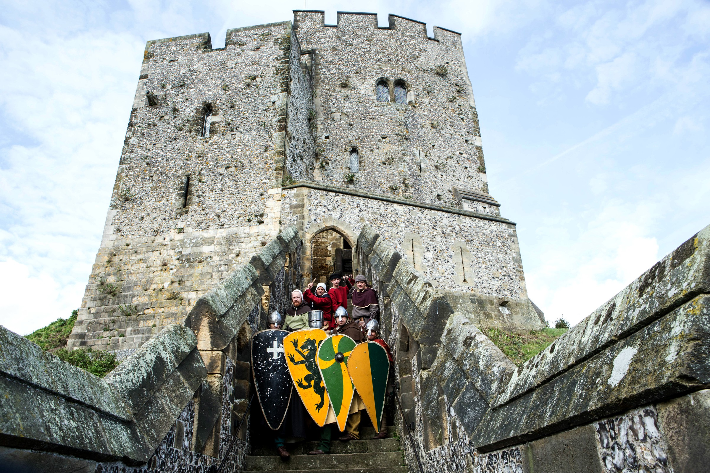 Norman Knights at the Castle