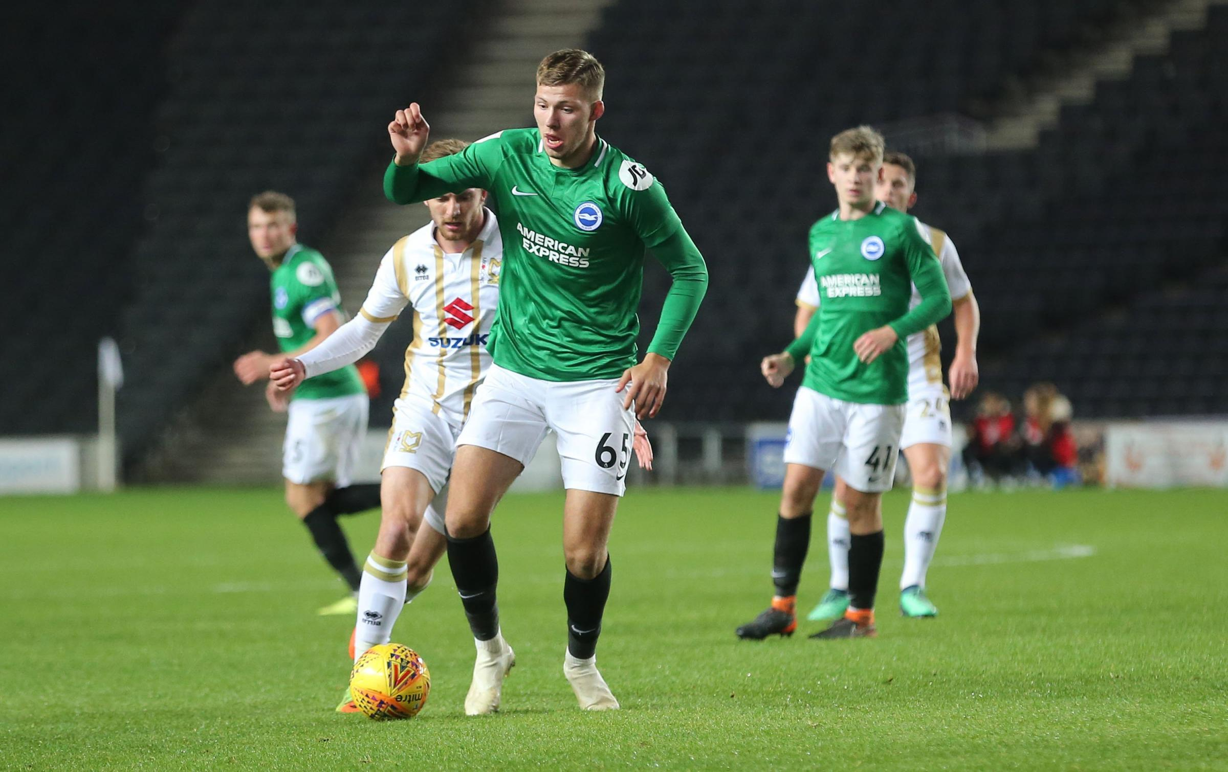 Young Albion striker hopes to follow Gyokeres' lead