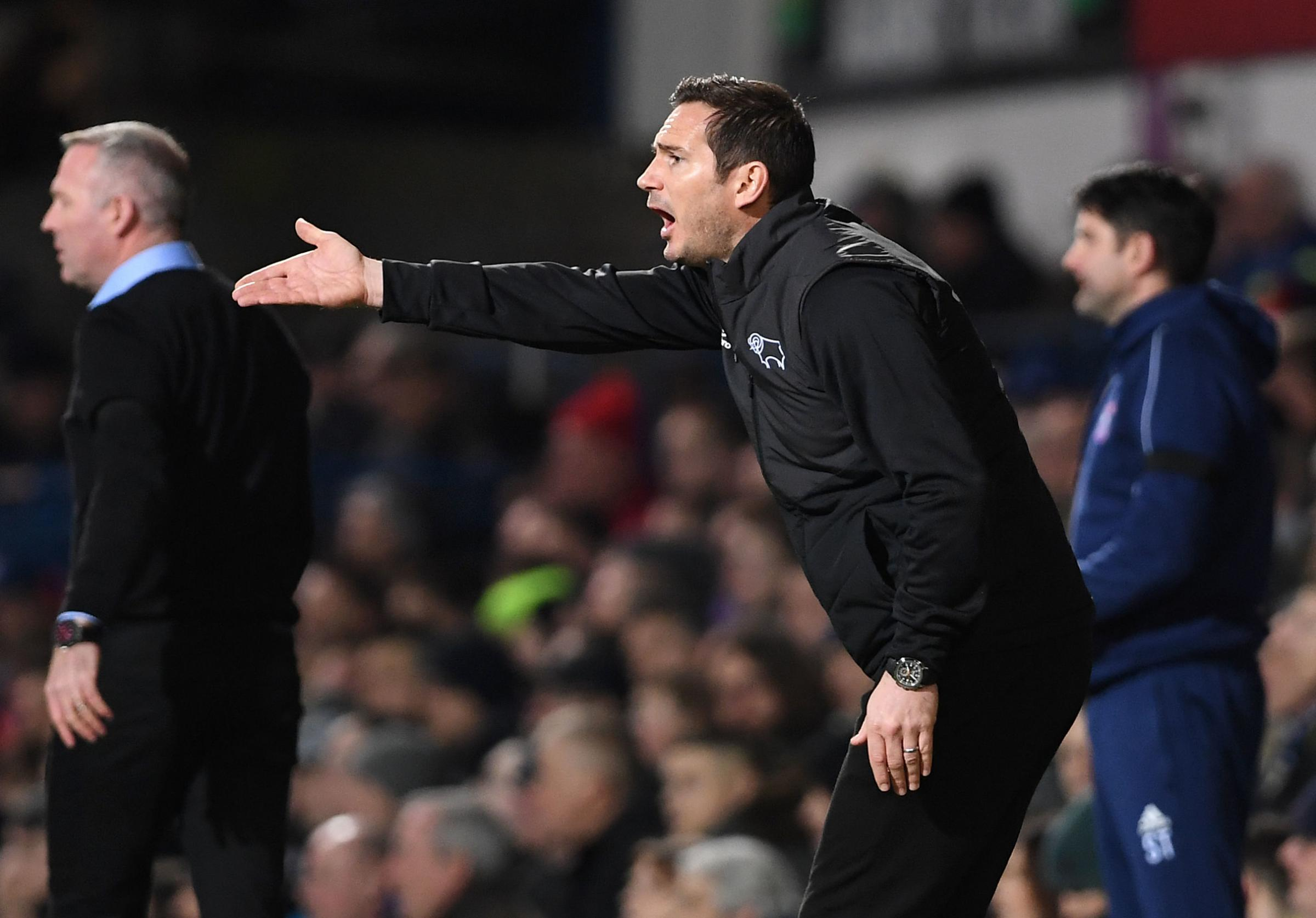Derby disappoint ahead of cup trip to the Amex