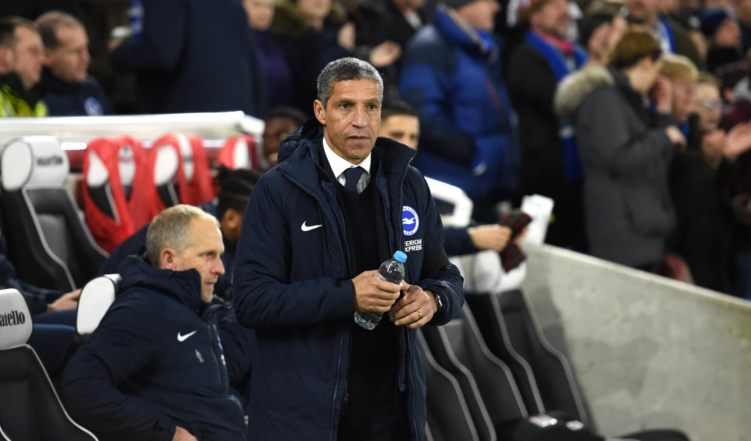 Hughton aims for huge lift in the FA Cup