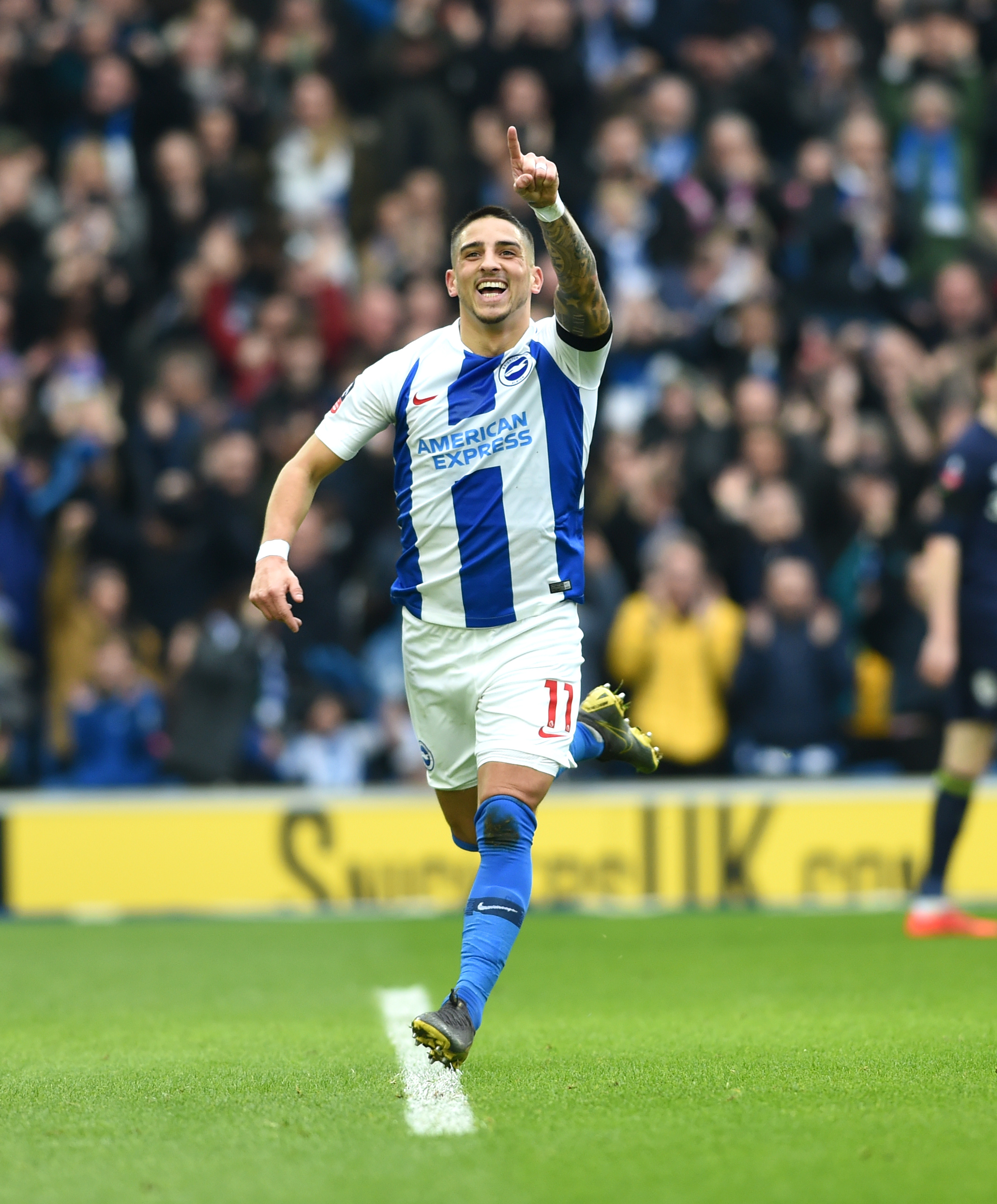 Graham Potter hails Anthony Knockaert's exit as a good move
