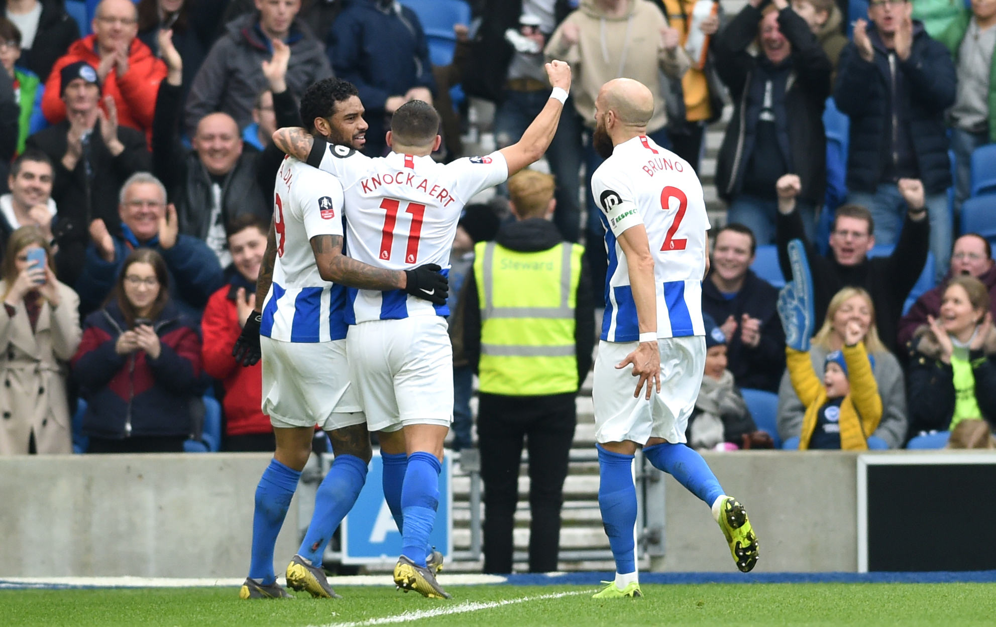 Striker shortage takes the gloss off Albion's FA Cup progress