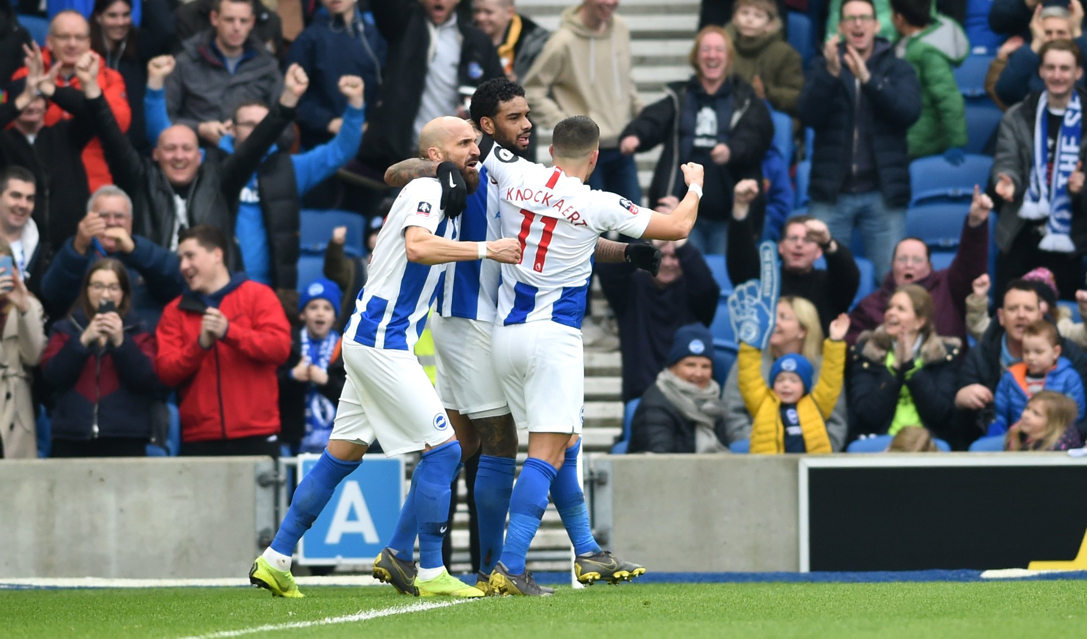 Knockaert delighted to get Albion off on the right foot